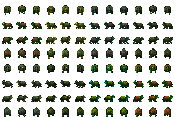 Large turtles sprite