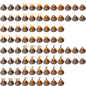 Animated Volcano