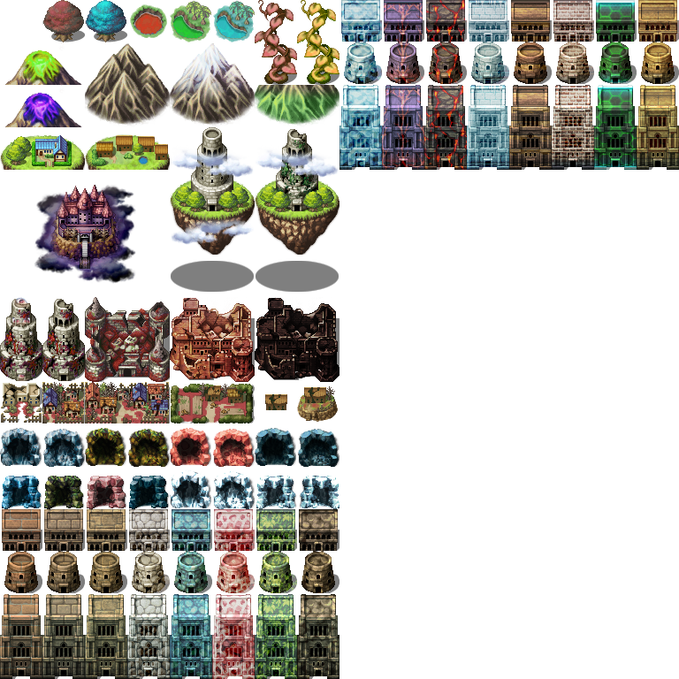 Fantasy world tileset - RPG TileSet Free Curated Assets for your RPG