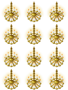 Animated Chandelier