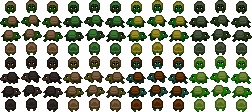 Small turtles sprite