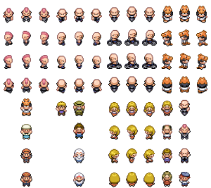 Pokemon NPCs Set 3